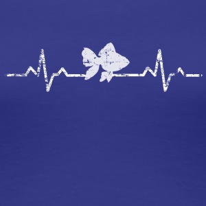 My heart beats for fish - Women's Premium T-Shirt