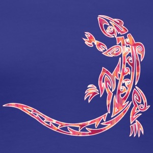 Cool lézard tribal - T-shirt Premium Femme