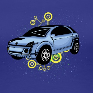 Ugly small car - Women's Premium T-Shirt
