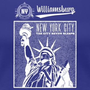 New York City · Williamsburg - T-shirt Premium Femme