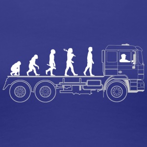 Truck evolution - Women's Premium T-Shirt