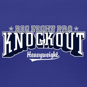 grote gevecht pro knockout 01 - Vrouwen Premium T-shirt