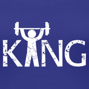 King of the Gym - Premium T-skjorte for kvinner