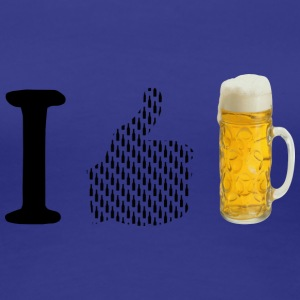 I like beer - Women's Premium T-Shirt