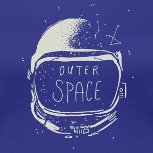 outerspace - Vrouwen Premium T-shirt