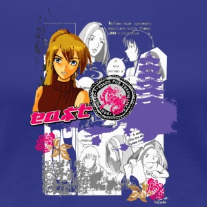ANIME - Frauen Premium T-Shirt