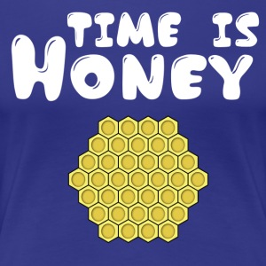 ++Time is Honey++ - Frauen Premium T-Shirt
