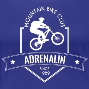 Mountion cykel Club - Premium-T-shirt dam