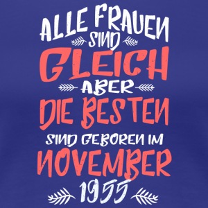 November 1955 - Frauen Premium T-Shirt