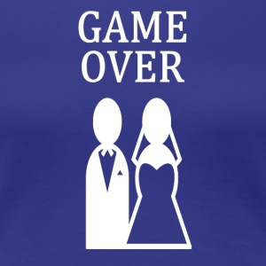 ++ ++ GAME OVER - Dame premium T-shirt