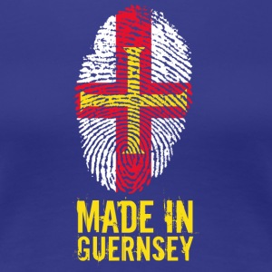 Made In Guernsey / Guernsey - Dame premium T-shirt