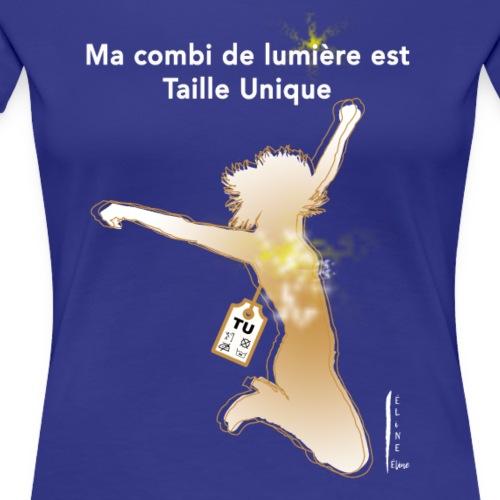ma combi de lumière - T-shirt Premium Femme