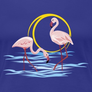 Flamingos - Frauen Premium T-Shirt