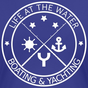 Life at the water - boating and yachting - Frauen Premium T-Shirt