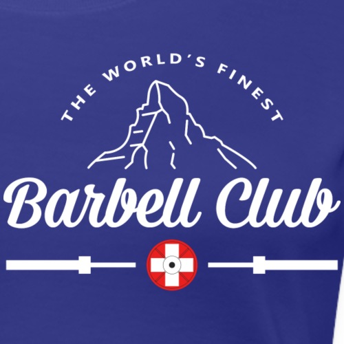 The world's finest Barbell Club - Frauen Premium T-Shirt