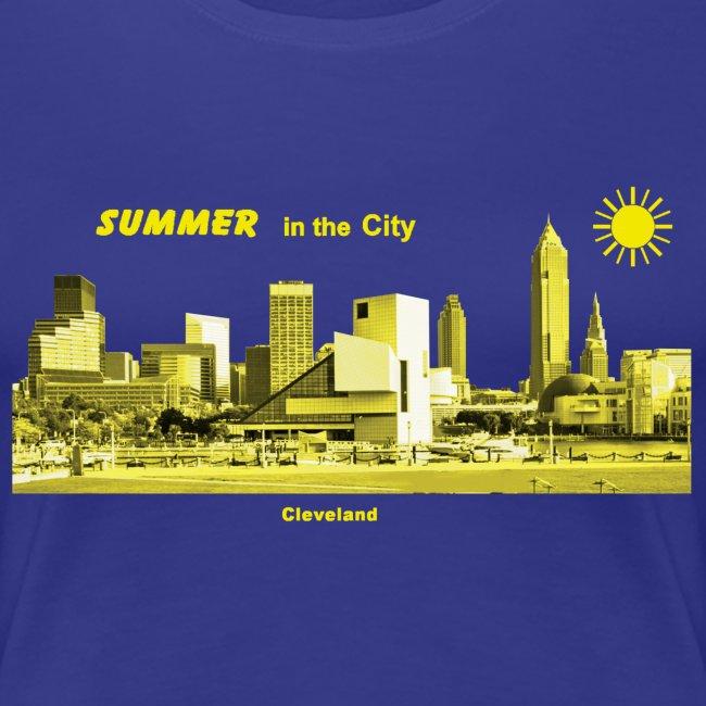 Cleveland Skyline Summer