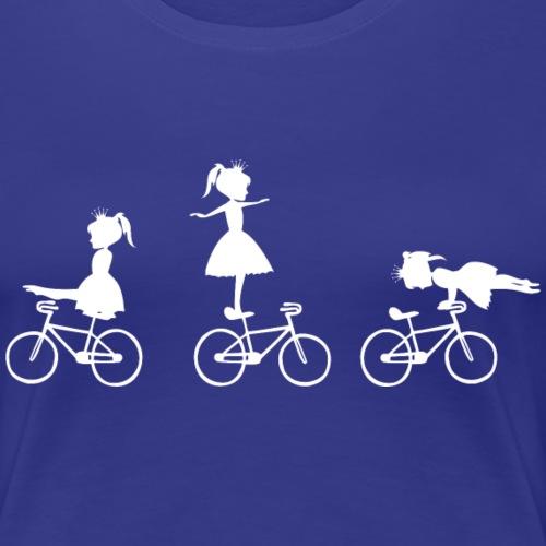 Kunstrad   Prinzessin - Frauen Premium T-Shirt