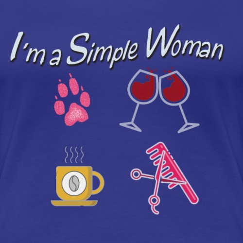 1 simple woman - Maglietta Premium da donna