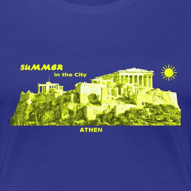 Summer Athen City Griechenland