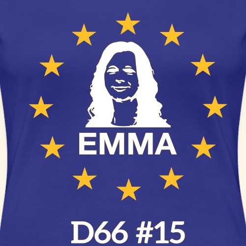 T-shirt Europa 2 - Vrouwen Premium T-shirt