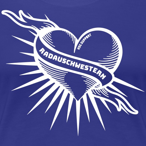 Radauschwestern - Frauen Premium T-Shirt