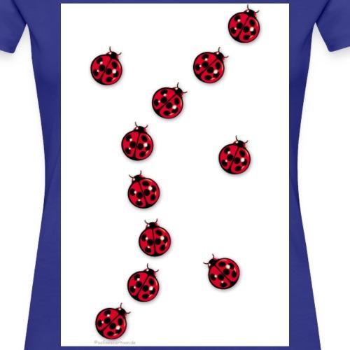 Marienkäfer - Frauen Premium T-Shirt