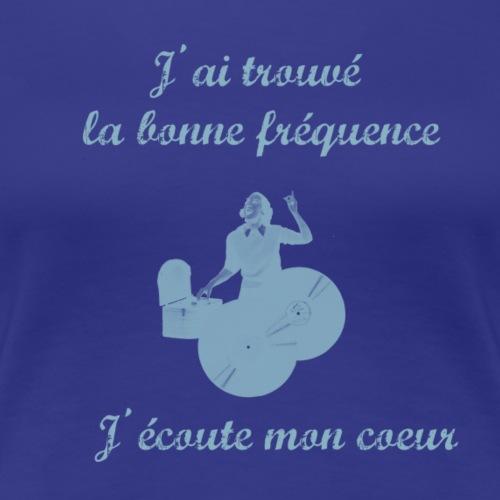 fréquence - T-shirt Premium Femme