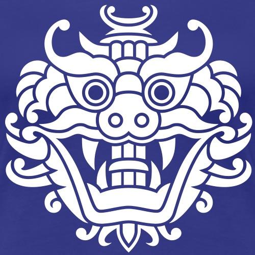 Asiatischer Drachenkopf - Frauen Premium T-Shirt