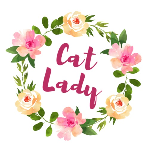 Cat Lady - Frauen Premium T-Shirt