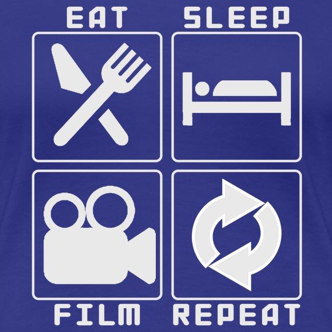 eat sleep film repeat