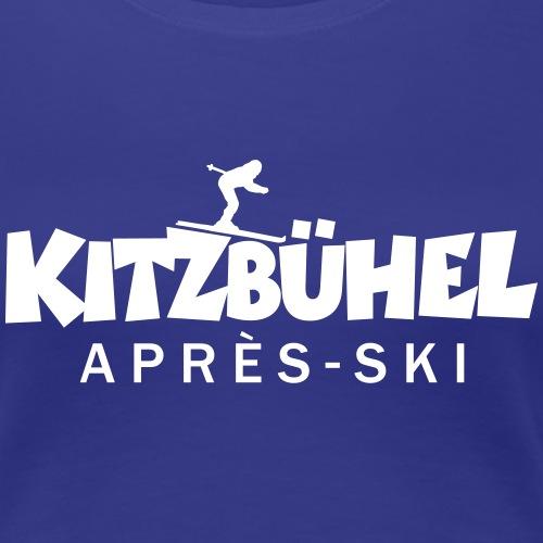 Kitzbühel Après-Ski (D) - Frauen Premium T-Shirt
