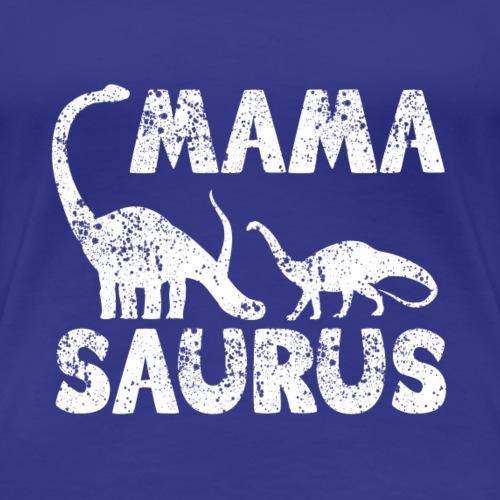 Mama Saurus v3 - Frauen Premium T-Shirt