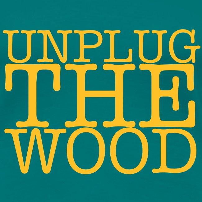Unplug The Wood square