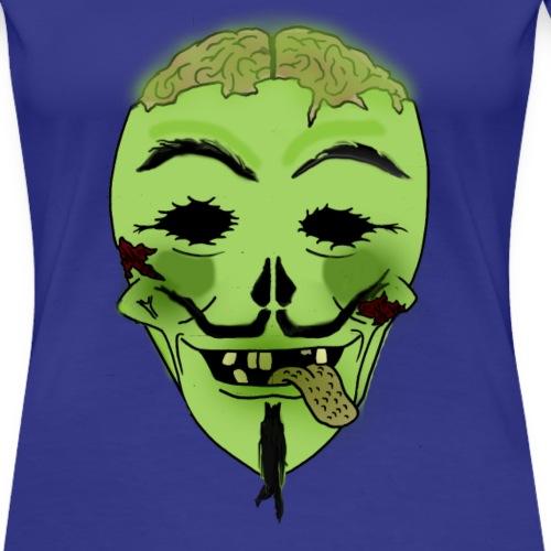 Guy Fakes - Women's Premium T-Shirt