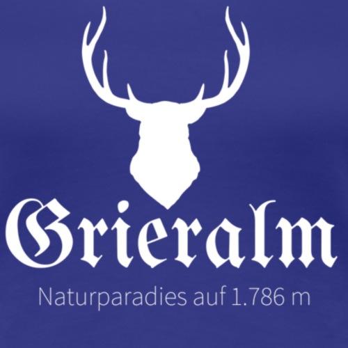 grieralm white - Frauen Premium T-Shirt