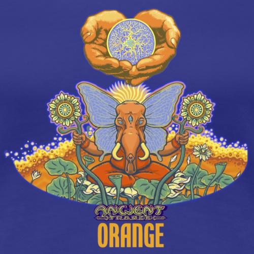 ORANGE - ANCIENT TRANCE - LIVE - ORANGEVIBES - Frauen Premium T-Shirt