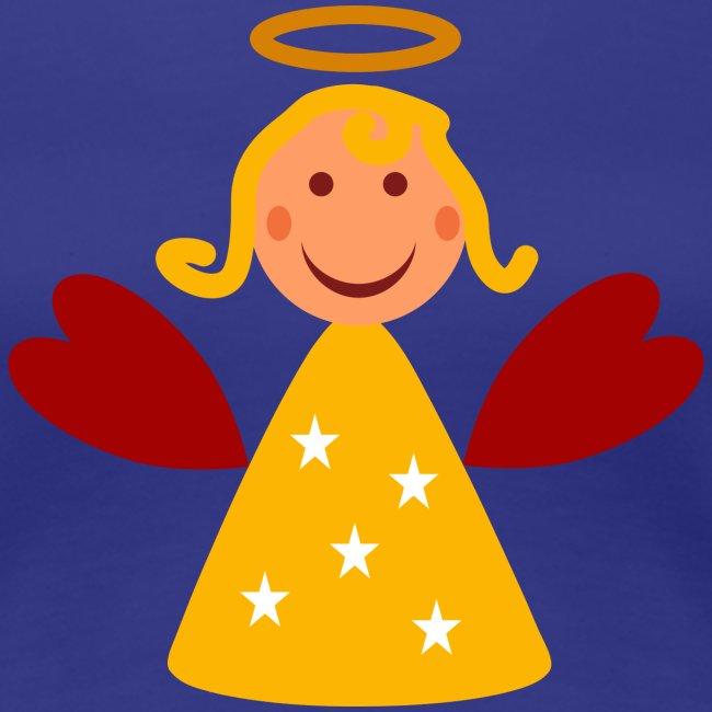 Schöner Engel mit Heiligenschein Süßes Engelchen