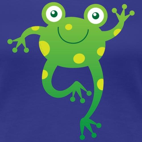 Smiling Little Frog - Women's Premium T-Shirt