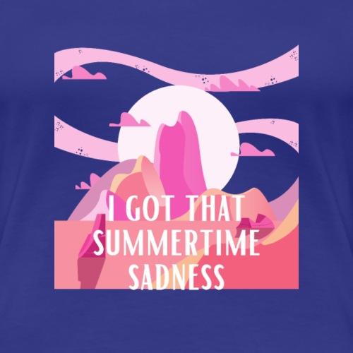 J'ai cette tristesse estivale - T-shirt Premium Femme