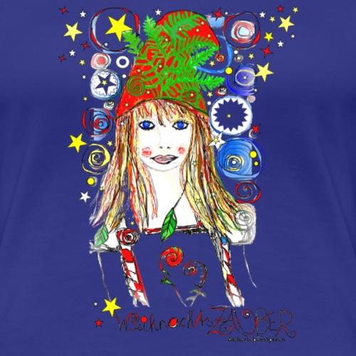 Weihnachtszauber - Frauen Premium T-Shirt