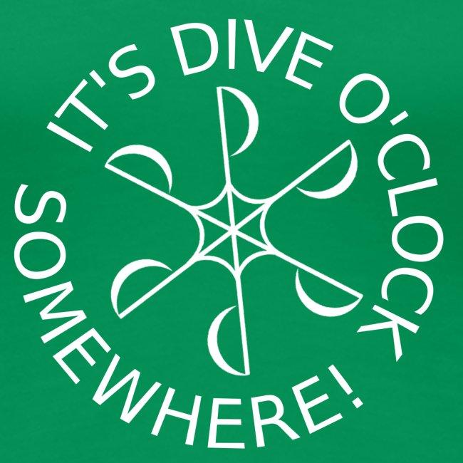 Dive o clock White