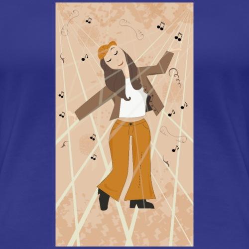 Retour aux années 70 - 80 ou 90 - T-shirt Premium Femme