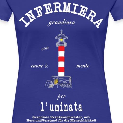 Grandiose Krankenschwester Italienisch/ Deutsch - Frauen Premium T-Shirt