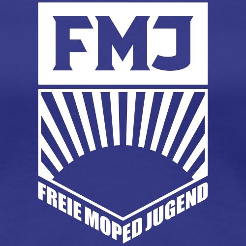 Freie Moped Jugend FDJ Parodie (1c) - Women's Premium T-Shirt