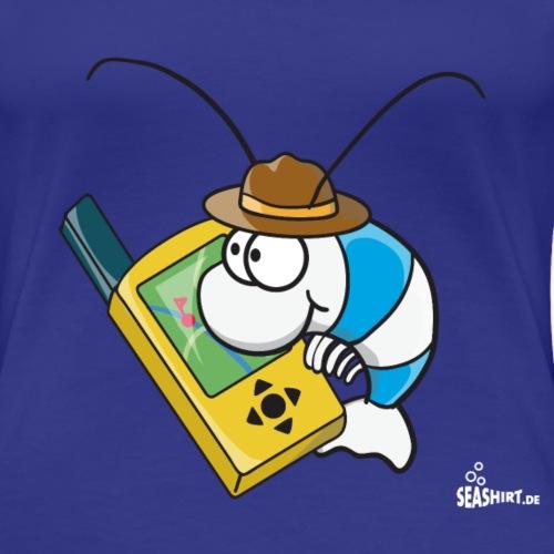 Thoddys Geocaching Garnele - Frauen Premium T-Shirt