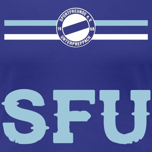 SFU BRUSTRING - Frauen Premium T-Shirt