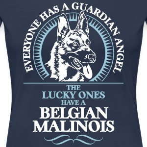 GUARDIAN ANGEL BELGISK Malinois - Premium T-skjorte for kvinner