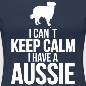 I can´t KEEP CALM Aussie - Frauen Premium T-Shirt