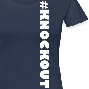 #KNOCKOUT - Premium-T-shirt dam