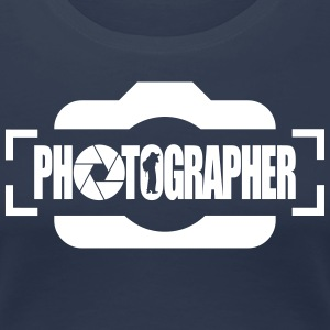 PHOTOGRAPHER - Frauen Premium T-Shirt